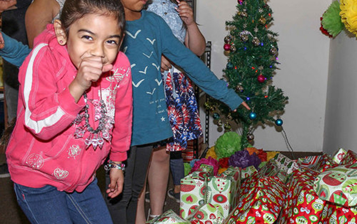 Holiday Party for Disadvantaged Kids