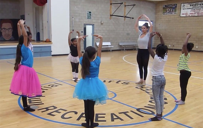 Ballet for At-Risk Youth