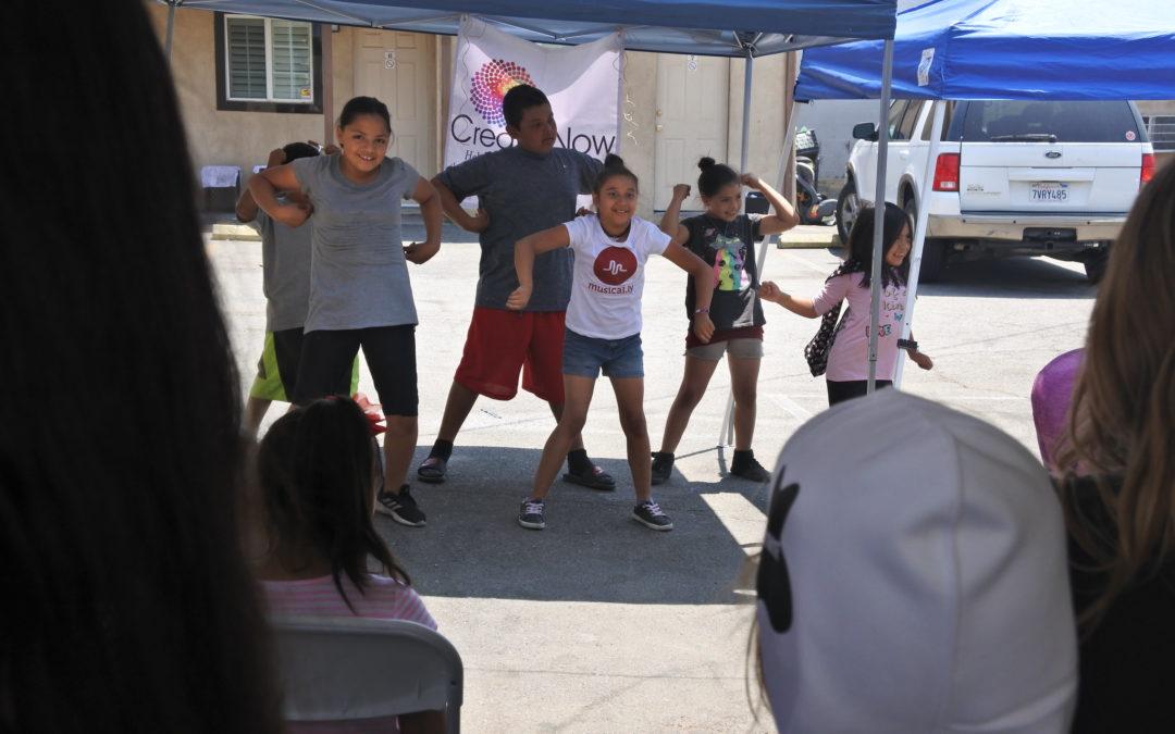 Kids Facing Homelessness Perform!