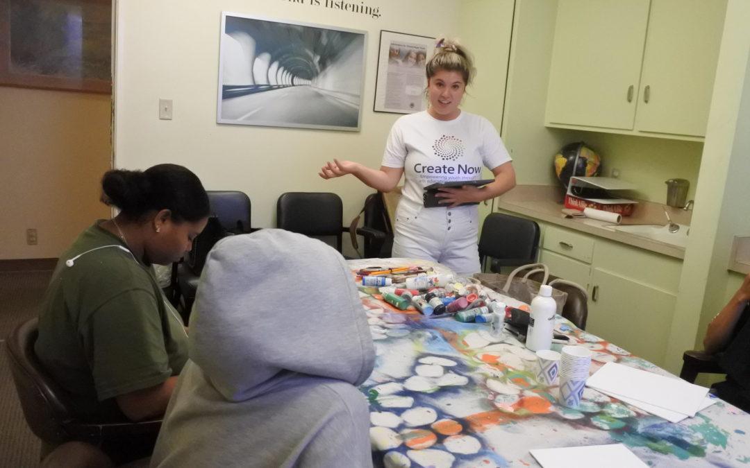 Homeless Teens Love Painting